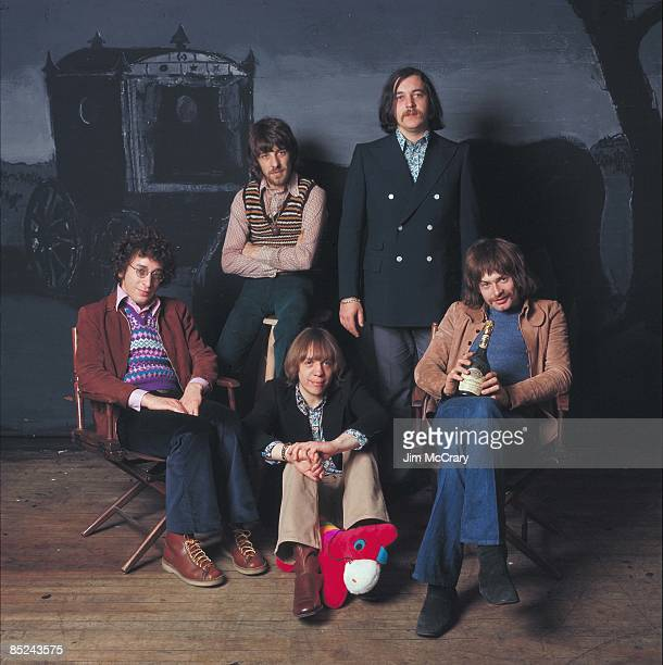 Photo of PROCOL HARUM In a rented photo studio in NYC