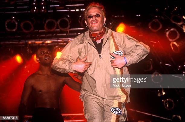 FESTIVAL Photo of PRODIGY and Keith FLINT Maxim and Keith Flint performing on stage