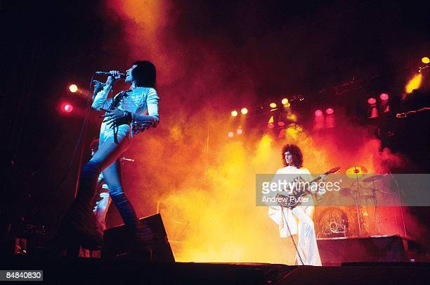 ODEON Photo of QUEEN Freddie Mercury and Brian May performing on stage