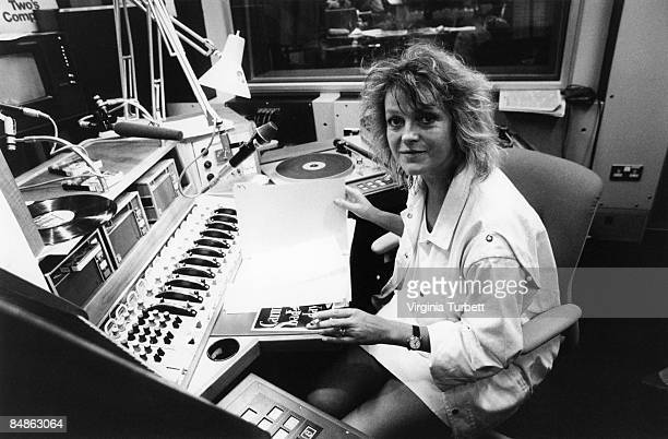 Photo of RADIO ONE and Annie NIGHTINGALE in Radio One studio