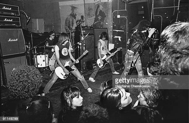 S Photo of RAMONES LR Tommy Ramone Johnny Ramone Dee Dee Ramone Joey Ramone