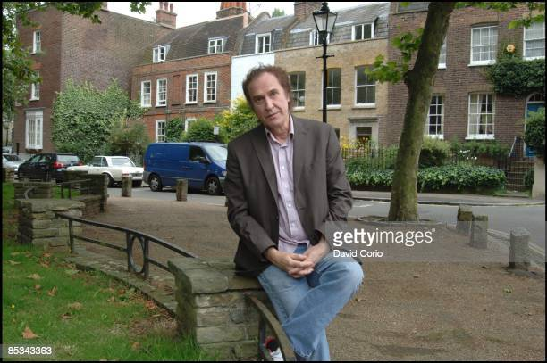 Photo of Ray DAVIES Ray Davies former frontman of The Kinks posed at Pond Square Highgate