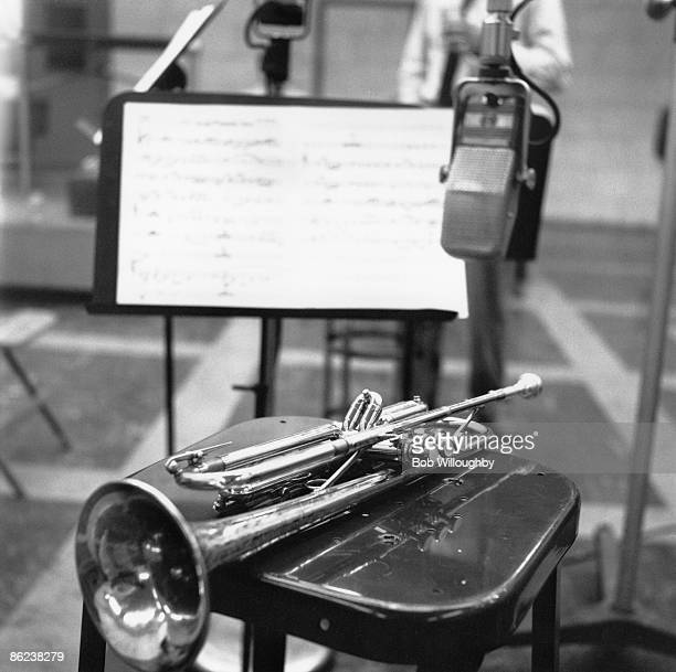Photo of RECORDING STUDIO and JAZZ and JAZZ and TRUMPET Chet Baker's Trumpet