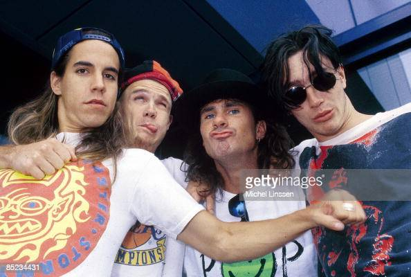 anthony kiedis flea chad smith john frusciante posed group shot news photo getty images. Black Bedroom Furniture Sets. Home Design Ideas