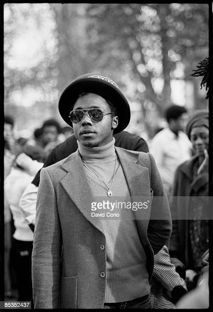 Photo of REGGAE Fan in hat and sunglasses