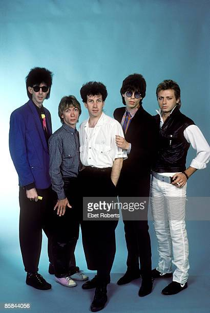 UNITED STATES JULY 23 Photo of Ric OCASEK and CARS and Benjamin ORR and David ROBINSON LR Ric Ocasek Greg Hawkes David Robinson Elliot Easton...
