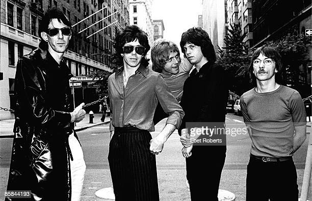 UNITED STATES JANUARY 01 Photo of Ric OCASEK and CARS and Benjamin ORR and Elliot EASTON LR Ric Ocasek David Robinson Benjamin Orr Elliot Easton Greg...