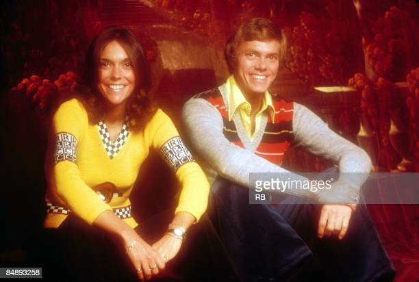 Photo of Richard CARPENTER and Karen CARPENTER and CARPENTERS Posed portrait of Karen and Richard Carpenter