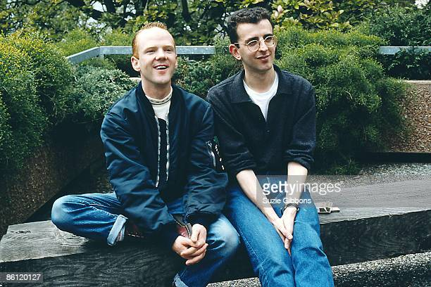 FESTIVAL Photo of Richard COLES and COMMUNARDS and Jimmy SOMERVILLE