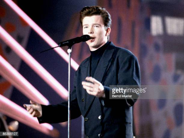 Photo of Rick ASTLEY Rick Astley performing on stage