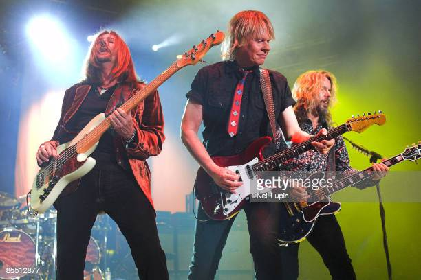 ARENA Photo of Ricky PHILLIPS and Tommy SHAW and James YOUNG and STYX Ricky Phillips James Young Tommy Shaw performing together live on stage