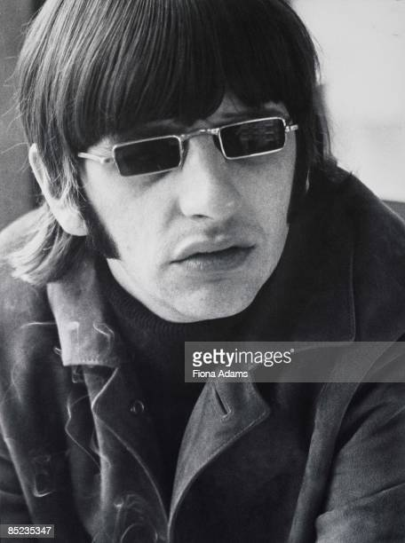Photo of Ringo STARR and BEATLES Ringo Starr posed on final German tour wearing rectangular sunglasses