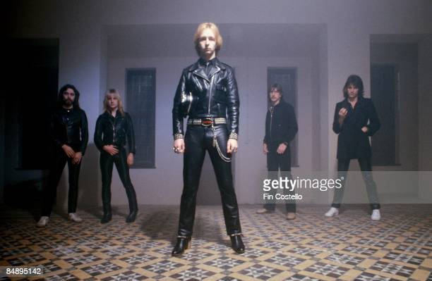 CAMDEN Photo of Rob HALFORD and KK DOWNING and JUDAS PRIEST and Ian HILL and Glenn TIPTON and Dave HOLLAND LR Ian Hill KK Downing Rob Halford Dave...
