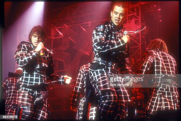 Photo of Robbie Williams and Take That live at Ahoy 1994