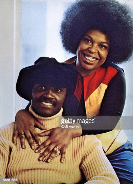 Photo of Roberta FLACK and Donny HATHAWAY Portrait with Roberta Flack