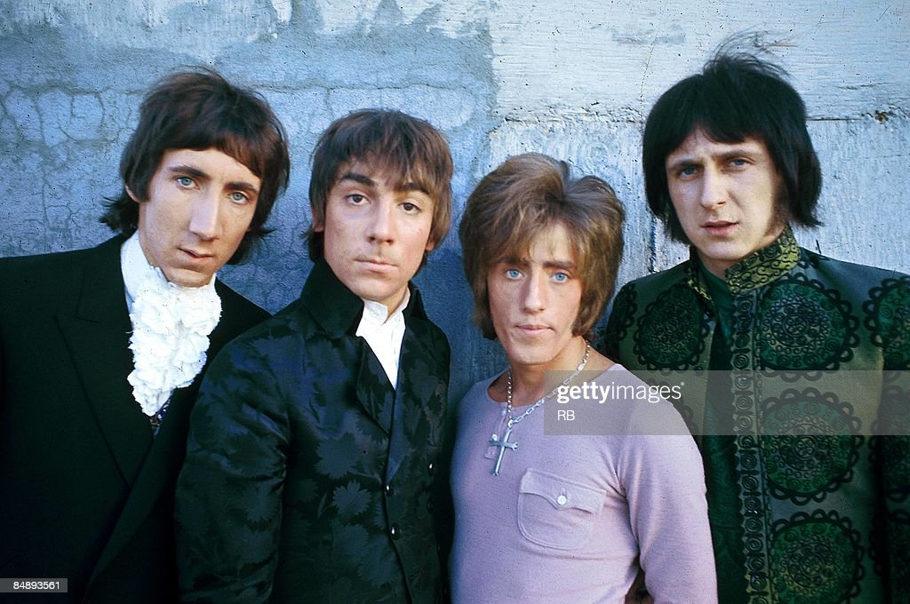 Photo of Roger DALTREY and Pete TOWNSHEND and WHO and Keith MOON and John ENTWISTLE : News Photo