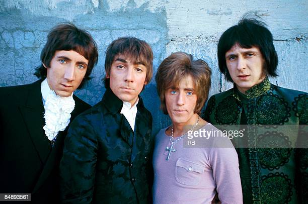 Photo of Roger DALTREY and Pete TOWNSHEND and The Who and Keith MOON and John ENTWISTLE LR Pete Townshend Keith Moon Roger Daltrey John Entwistle...