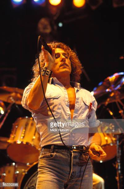 STADIUM Photo of Roger DALTREY and The Who Roger Daltrey performing live onstage at the Freddie Mercury Tribute gig