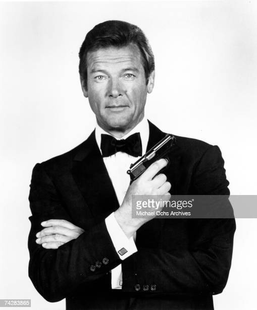 Photo of Roger Moore as James Bond. Photo by Michael Ochs Archives/Getty Images