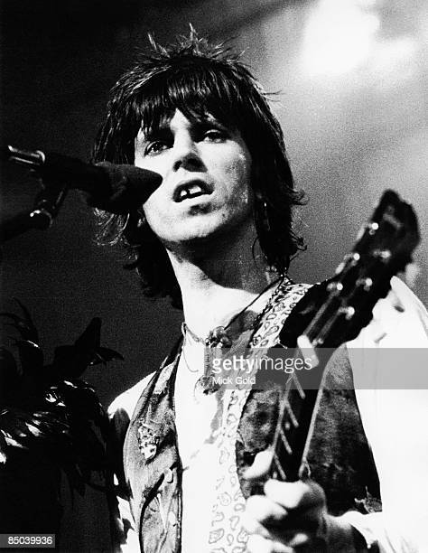 Photo of ROLLING STONES and Keith RICHARDS performing live onstage in London with the Ron Wood Band in a gig to promote Wood's album 'I've Got My Own...