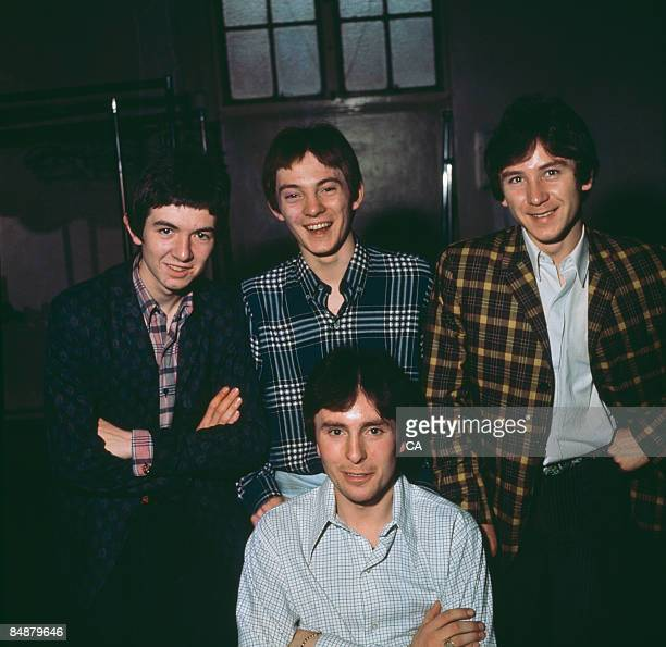 Photo of Ronnie LANE and Kenney JONES and Steve MARRIOTT and Jimmy WINSTON and SMALL FACES; L-R: Ronnie Lane, Steve Marriott , Jimmy Winston , Kenney...