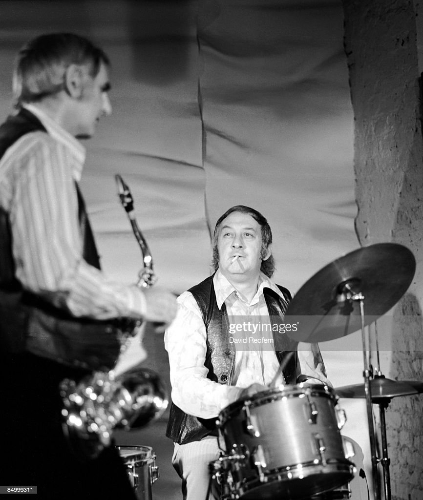 Photo of Ronnie SCOTT and Tony CROMBIE;