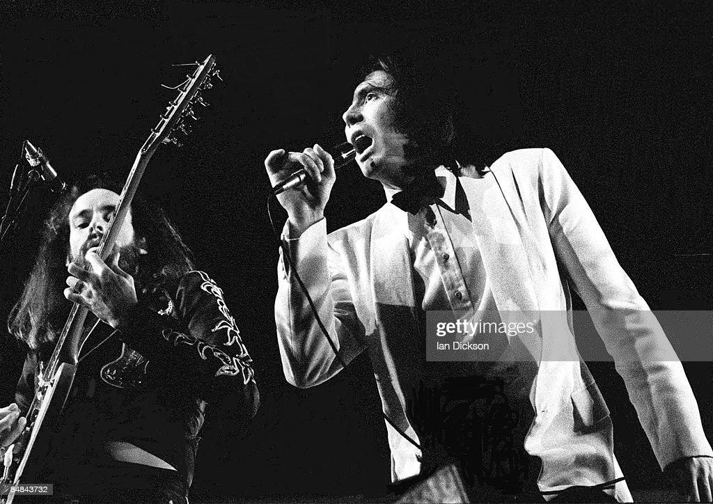 Photo of ROXY MUSIC and Bryan FERRY and Phil MANZANERA : News Photo