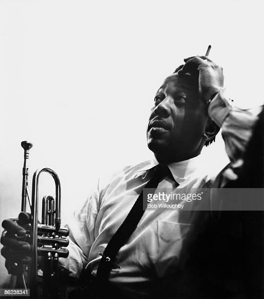 Photo of Roy ELDRIDGE; live at Jazz at the Philharmonic, Shrine Auditorium