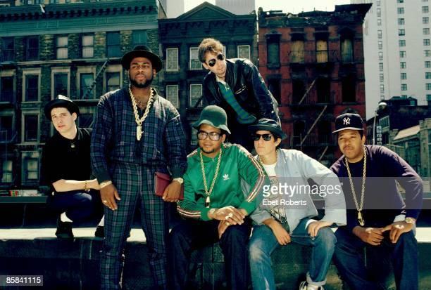 Photo of RUN DMC and BEASTIE BOYS with The Beastie Boys