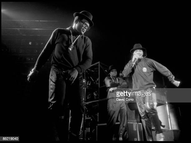 ODEON Photo of RUN DMC Run DMC performing at Hammersmith Odeon London UK