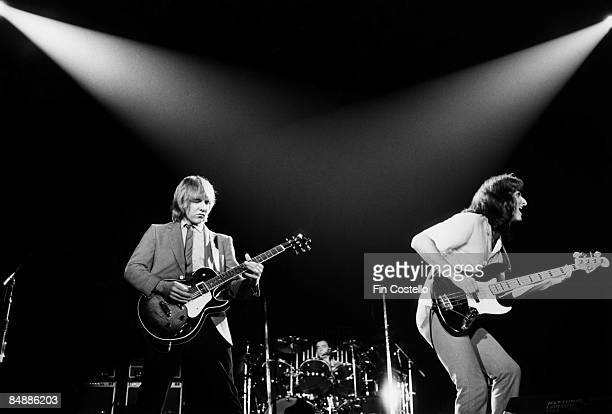 Alex Lifeson Neil Peart Geddy Lee performing live onstage on ExitStage Left tour