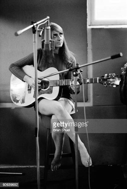 Photo of Sally OLDFIELD In a recording studio