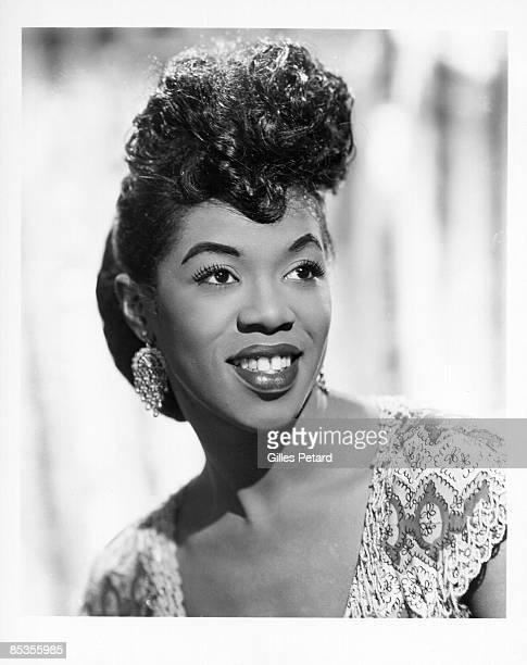 Photo of Sarah VAUGHAN; 1950