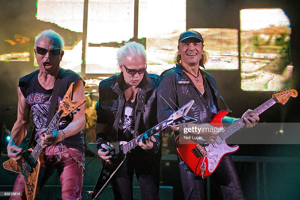 Photo Of Scorpions And Matthias Jabs And Rudolf Schenker And Michael News Photo Getty Images
