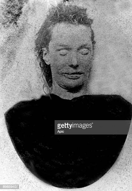 Photo of Scotland Yard showing Elizabeth Stride one of the victims of serial killer Jack the Ripper in September 1888 picture from Scotland Yard of...