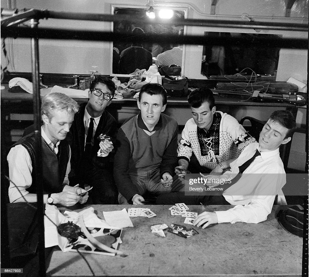 Bruce Welch: Jet Harris, Hank Marvin, Bruce Welch, ?, Tony Meehan