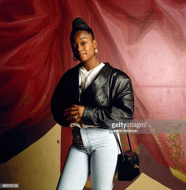 Photo of Shante, Roxanne; Roxanne Shante photographed in New York City, 1986