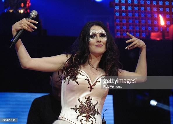 photo of sharon den adel and within temptation pictures getty images. Black Bedroom Furniture Sets. Home Design Ideas