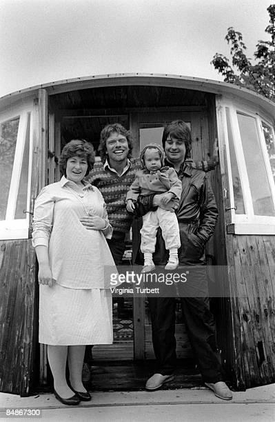Photo of Sharon OSBOURNE and Richard BRANSON and Ozzy OSBOURNE with Richard Branson Sharon Osbourne signing to Virgin LR Sharon Osbourne Richard...