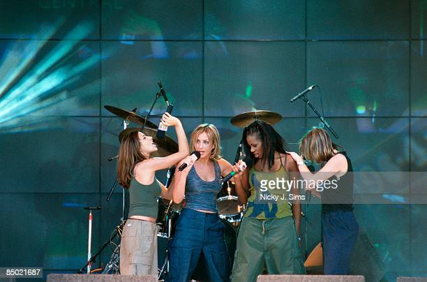 PARK Photo of Shaznay LEWIS and ALL SAINTS and Melanie BLATT and Nicole APPLETON LR Melanie Blatt Natalie Appleton Shaznay Lewis Nicole Appleton