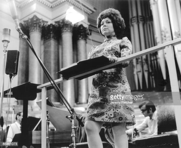 Photo of Sheila ARMSTRONG On stage at Leeds Town Hall