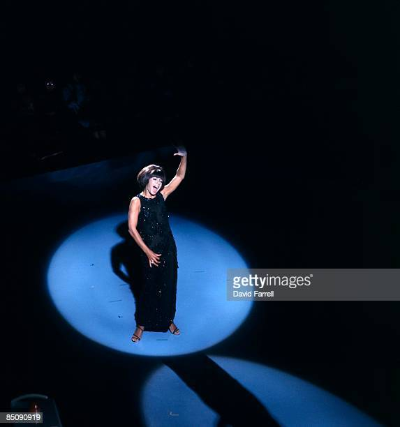 Photo of Shirley BASSEY Shirley Bassey performing on stage