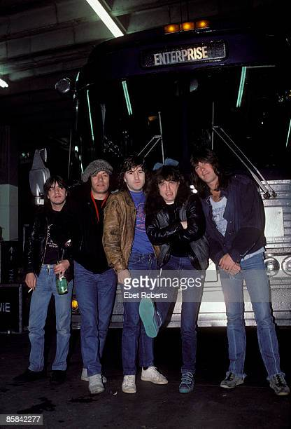 UNITED STATES NOVEMBER 22 Photo of Simon WRIGHT and Cliff WILLIAMS and Malcolm YOUNG and Angus YOUNG and AC/DC and Brian JOHNSON and AC DC Malcolm...