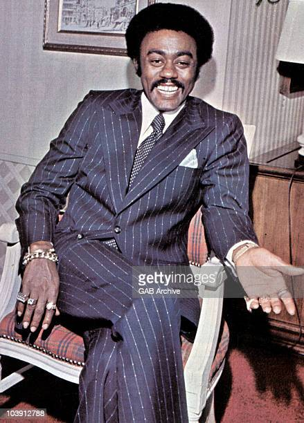 Photo of singer Johnnie Taylor