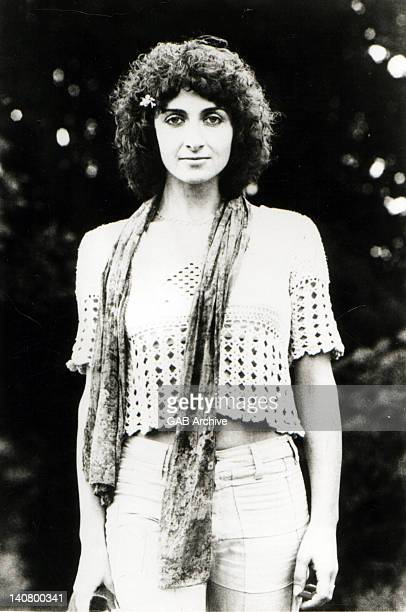 Photo of singersongwriter Sally Oldfield posed circa 1975