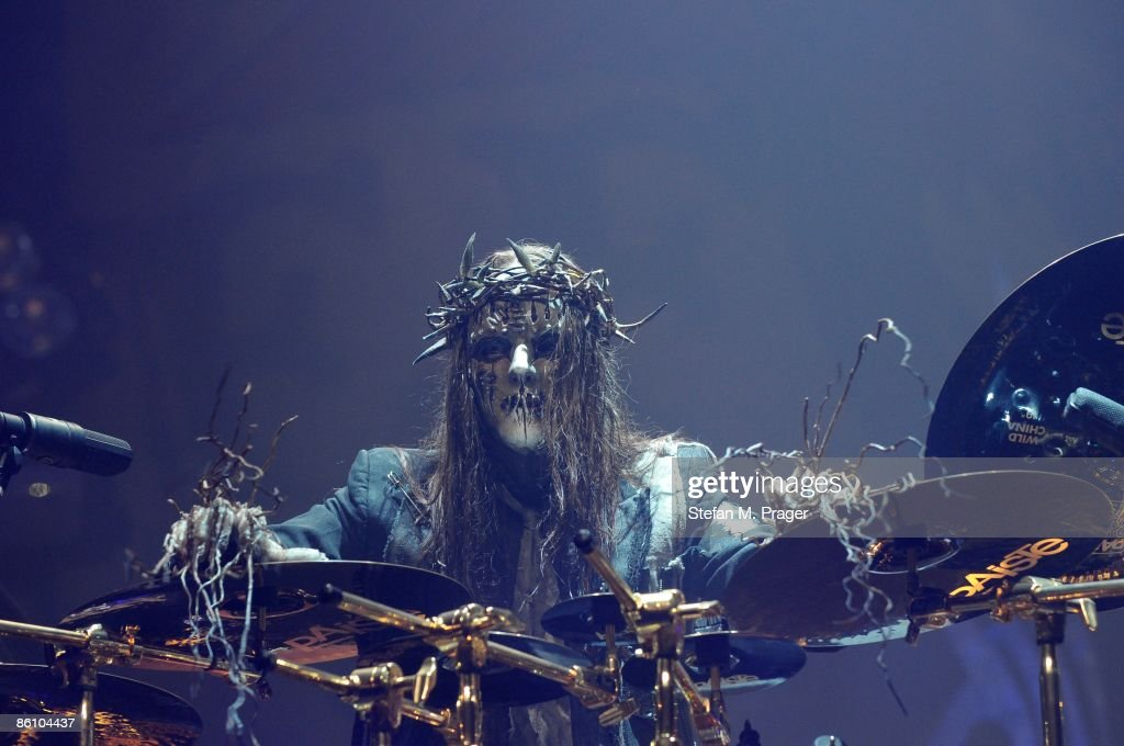 Photo of SLIPKNOT and Joey JORDISON, Drummer Joey Jordison