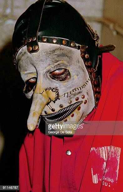 Photo of SLIPKNOT Chris Fehn Photo by George De Sota /Redferns