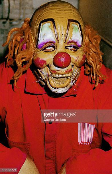 Photo of SLIPKNOT Shawn Crahan Photo by George De Sota /Redferns