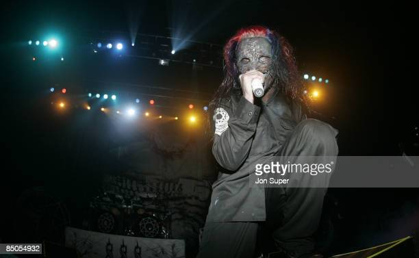 Photo of Slipknot Slipknot play the anchester Evening News Arena Pic Jim Sharp