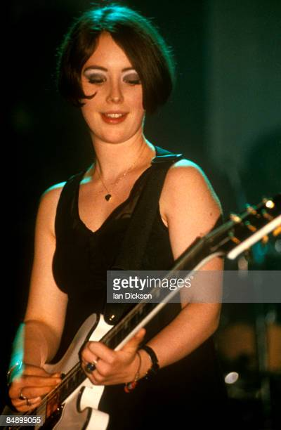 Photo of SLOWDIVE Rachel Goswell performing live onstage